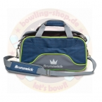 Crown Deluxe Double Tote | Navy/Lime Brunswick  Bag