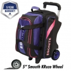 Ebonite Doppelroller Bag Ball Wagen Pink / Purpel