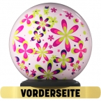 On The Ball-Bowlingbälle im Design Top Colorful Flowers